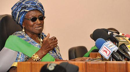 Installation de la 7ème législature : Le coup de gueule de Rosine Soglo