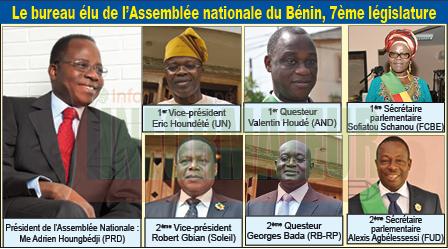 Assemblée nationale 7ème mandature : Les membres du bureau en conclave ce jour