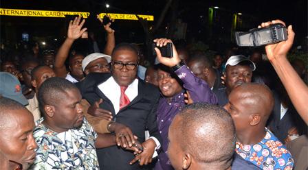 Olivier Bocco de retour hier à Cotonou