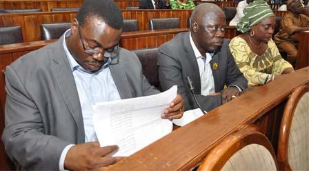 Actualisation de la Liste électorale : Les représentants du parlement désignés (Voir liste)