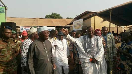 Meeting de présentation de la coalition Cdr à Sakété : Abiola met en marche sa machine de guerre pour la victoire de Zinsou