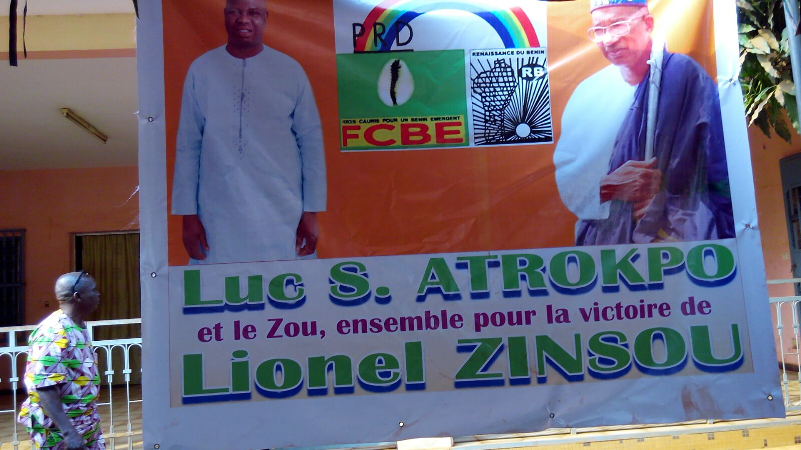 Élection présidentielle de 2016 : Luc Atrokpo quadrille le Zou pour Lionel Zinsou