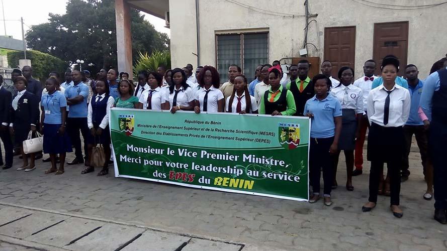 Cérémonie de montée des couleurs au Mesrs : Les promoteurs d'établissements privés rendent hommage à Abiola