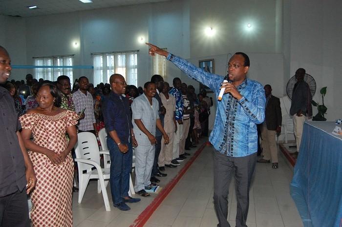 Municipalité de Cotonou : Léhady Soglo rallie les agents au train du K.O de Lionel Zinsou